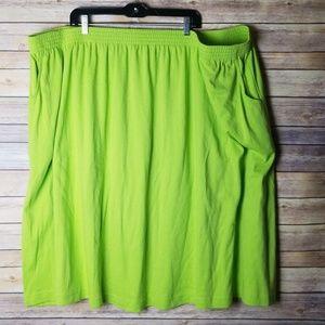 ❤5/$30 Lane Bryant Woman Skirt 6XP